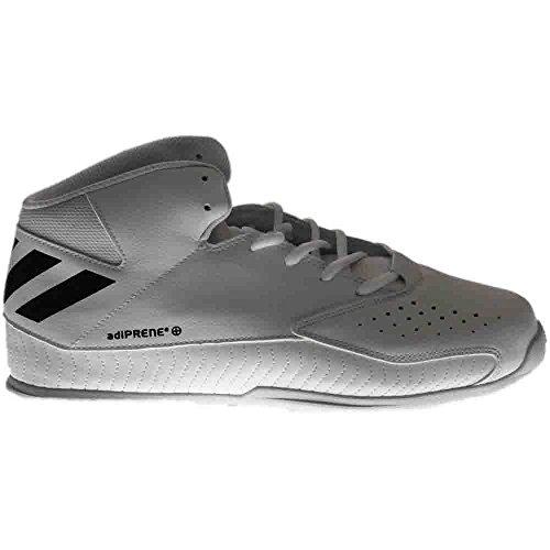 Adidas Männer NXT LVL SPD V Basketballschuh Weiß / Schwarz / Grau