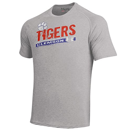 1 Orange Replica Basketball Jersey (Under Armour Men's  NCAA Short Sleeve Tech Tee -  Clemson Tigers - Large)