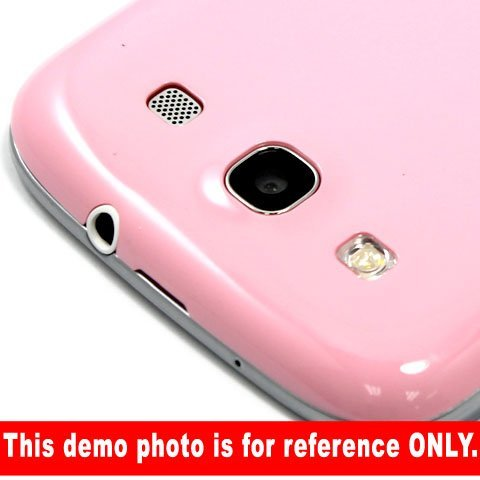 [Aftermarket Product] Brand New Pink Battery Back Rear Cover Door Replacement For Samsung Galaxy S3 i9300 by Generic (Image #2)