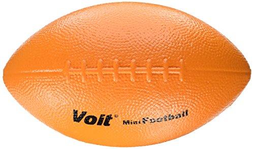 Voit Tuff Coated Foam Mini Football (Orange, 8-1/2-Inch)