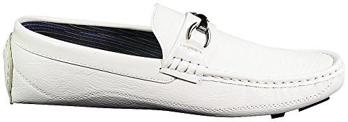 Norty Shoes Casual Moc Loafers Boat White Driving Mens Fashion Moda Italy rnw8xFBqgr