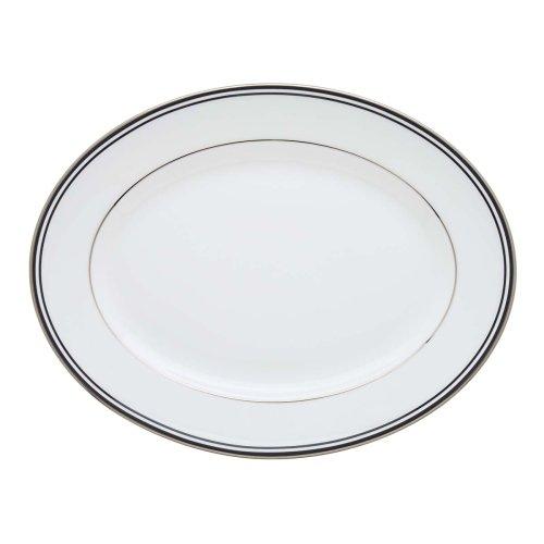 Lenox Federal Platinum  Oval Platter, Black Lenox Federal Platinum Chocolate