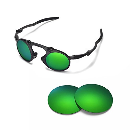 Walleva Replacement Lenses For Oakley Madman Sunglasses - Multiple Options Available