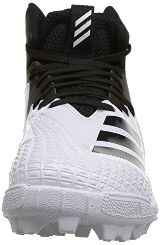 adidas Unisex Freak Mid MD Wide J Football Shoe, FTWR White, core Black, 4 M US Big Kid by adidas (Image #4)