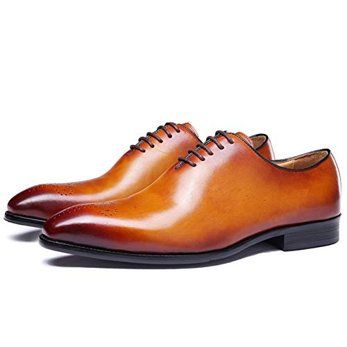 Felix Chu Men's Dress Shoes Men Oxford Shoes 100% Full Calf Leather Shoes for Men