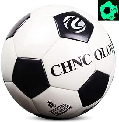 Lecc Fútbol Luminoso, Balón Fútbol Tamaño Oficial (Tamaño 5) para ...