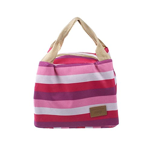 Pouch Lunch B,IEason Clearance Sale! Picnic Insulated Food Storage Zipper Box Tote Bento Pouch Lunch Bag