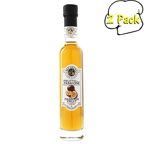 Fruit Wine Passion (Passion Fruit Wine Vinegar, 8.5 Ounces, Pack of 2)