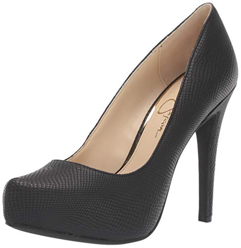 Jessica Simpson Women's PARISAH Pump, Black, 7 M US