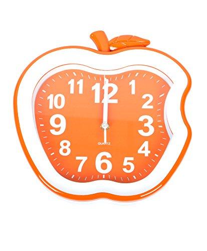 The Bitten Apple Wall Clock (Orange)