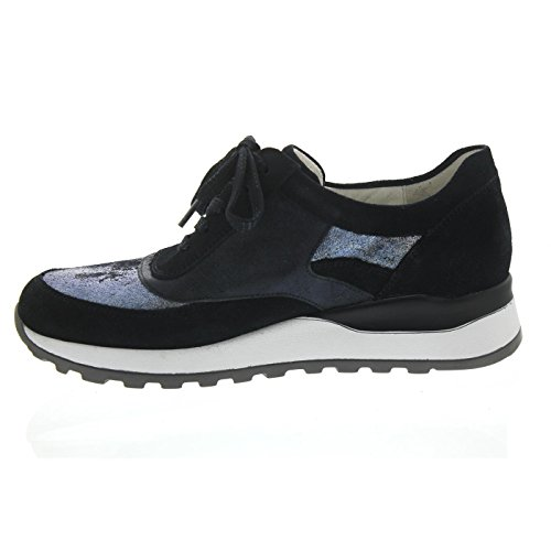 Femme Lacets Ville Hiroko De À Bleu Waldläufer Pour Chaussures qPpxa7