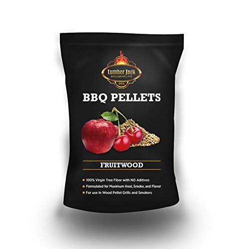 Mountain Apple (Lumber Jack 20-pounds BBQ Grilling wood pellets (Fruitwood Blend (80% Cherry/20% Apple)))