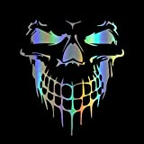 HungMieh Skull Stickers and Decals for Car Windows Doors and Trucks, 3D Skull Decals and Signs for Car Styling, Laser…