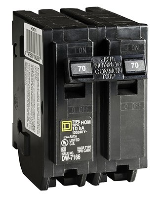 Homeline Circuit Breaker 70 Amp Bulk by Square D by Schneider Electric