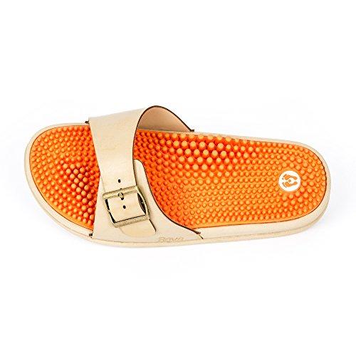 riflessologia piede I i Arancione sandali della Revs che massaggiano il seguendo principi xfwvxTdXq