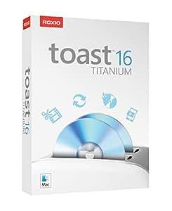 Roxio Toast 16 Titanium Media Capture, Conversion, and CD/DVD Burning Suite for Mac