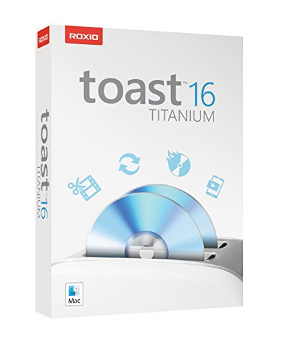 Roxio Toast 16 Titanium Media Capture, Conversion, and CD/DVD Burning Suite for Mac by Roxio