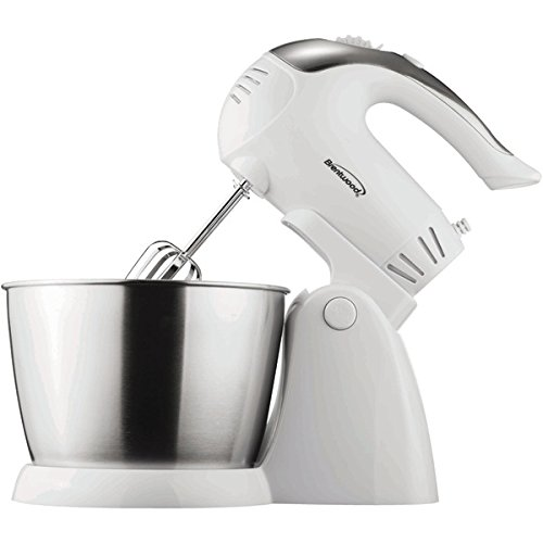 Brentwood Appliances SM-1152 5-Speed Stand Mixer with Bowl,
