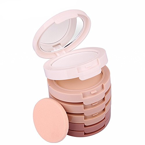 1 SET Brand Makeup Professional Make up 5 colors Kit Concealing Shading Pressed Powder Palette Cosmetics Perfect Foundation