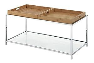 Amazon Com Convenience Concepts Palm Beach Coffee Table