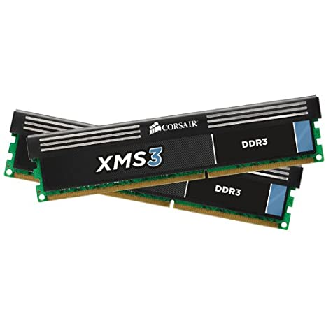 Corsair XMS3 16GB (2x8GB) DDR3 1333 MHz (PC3 10666) Desktop Memory 1 5V