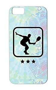 TPU Squash Logo F1 Cover Case For Iphone 5c Black Icon Sports Club Court Sports Paint Ball Team Miscellaneous Cool