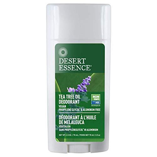 Desert Essence Tea Tree Oil Deodorant - 2.5 oz