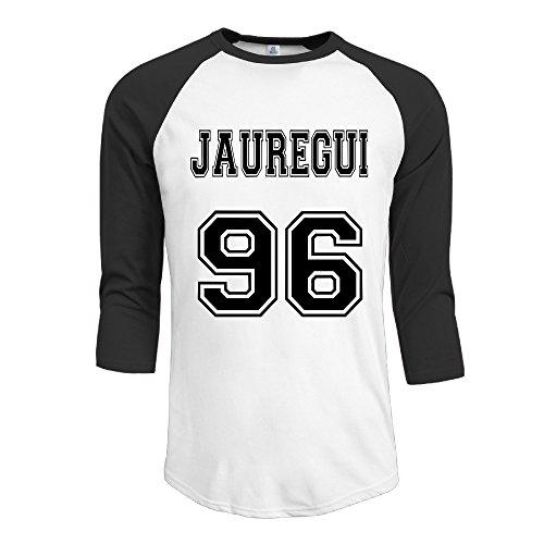 CALZ Men's Lauren Jauregui 96 Three-Quarter Sleeve Cotton Shirt S Black