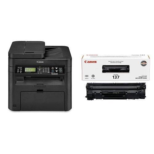 Canon imageCLASS MF244dw Wireless, Multifunction, Duplex Laser Printer with Original Black Toner Cartridge by Canon