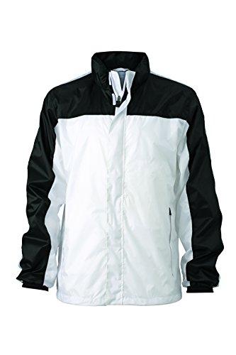 white Weather Team Black E Impermeabile Jacket Giacca Squadra Funzionale qx8XHw
