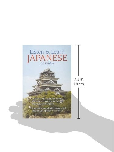 Listen & Learn Japanese (Book & Audio CD)