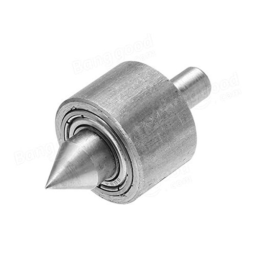 6mm Shank Revolving Center Live Center for Mini Lathe - Tool Accessories Woodworking Tool - 1 x Revolving Center