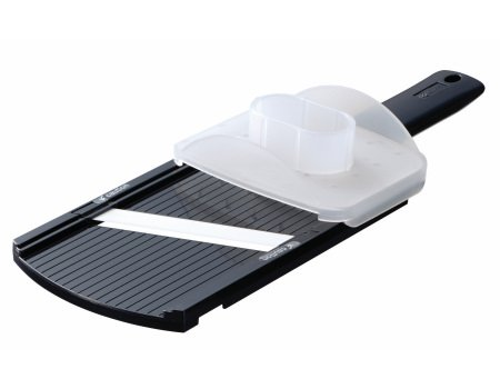 Kyocera Double Edged Mandolin Slicer, Black