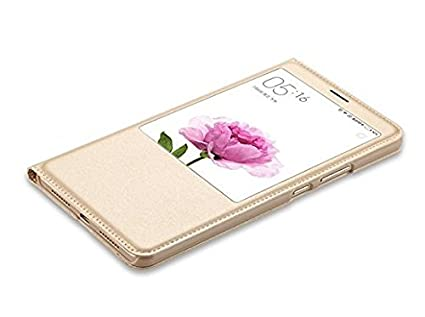 outlet store ae84b c713e Helix Flip Cover for Vivo 1610 - Gold: Amazon.in: Electronics