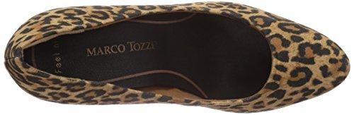 Marco Tozzi 22417 - zapatos de tacón cerrados de lona mujer multicolor - Mehrfarbig (Leopard / 960)