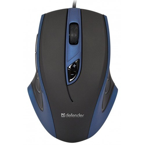 Defender Wired Gaming Mouse Warhead GMX-1800 Laser 7 Buttons 800-6000 dpi