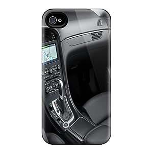 New Tpu Hard Case Premium Iphone 4/4s Skin Case Cover(2010 Saab 9 5 34)
