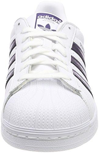 Scarpe Da Ginnastica Adidas Da Donna Superstar Bianche (ftwbla / Pumeno / Ftwbla 000)