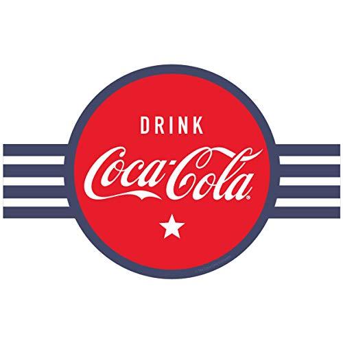 Coca-Cola Drink Coke Red Circle Banner Style Vinyl Sticker