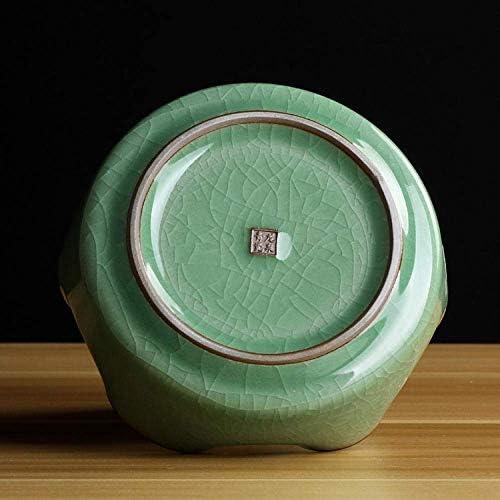 ZKS-KS 蓋パーソナライズ手つ折りメープルリーフ小型洗濯灰皿付き屋内灰皿のための灰皿灰皿