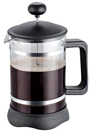 French Press Chrome & Black (Black) (Coffee Grinder Press compare prices)