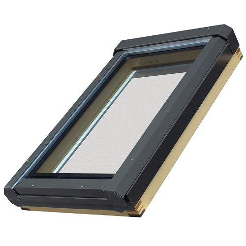 FAKRO 68814 Manual Venting Skylight, 30-1/2-Inch x 54-1/4-Inch