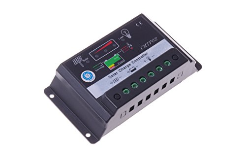 SMAKN® 30A CMTP02 Solar Panel Battery Regulator Charge Controller 12V/24V Auto Switch by SMAKN