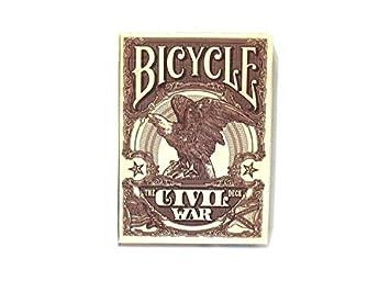 Bicycle CIVIL WAR Juego de cartas - modelo surtido, 1 unidad