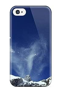 Tpu Case For Iphone 4/4s With Design WANGJING JINDA