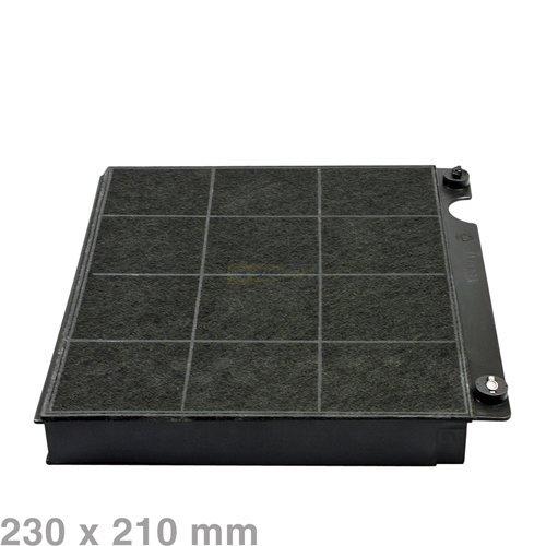 Kohlefilter 230x210mm Mod15 / rechteckiger Aktivkohlefilter für Dunstabzugshauben