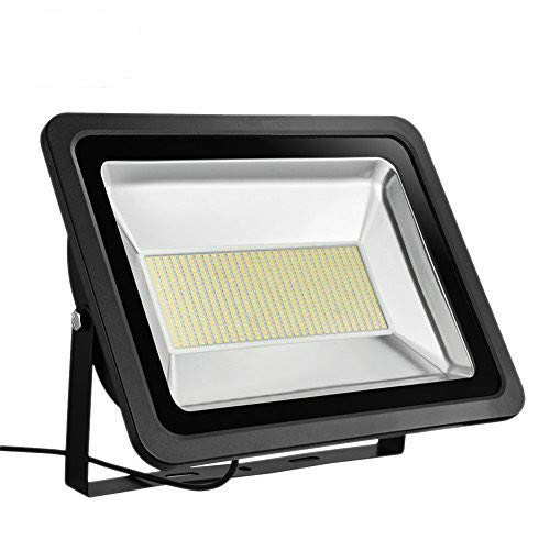 Missbee Super Bright 150W LED Flood Light, 16500lm Outdoor Landscape Flood Light, Security Light , 2800-300K, Work for Garage, Garden, Lawn,Yard and Playground (Warm White) by Missbee