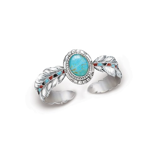 Turquoise Women's Bracelet: Sedona Sky by The Bradford Exchange