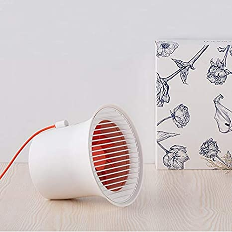 with Seven-Vane Use for Home//Office USB Fan USB Electric Deskt Table Air Cooling Fan Color : Gray XIAOF-FEN Portable Mini Fan