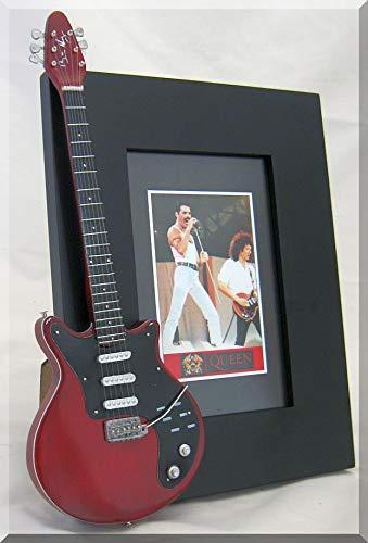 ARTSTUDIO35 Brian May Miniatura Marco de la Guitarra Imagen Queen ...